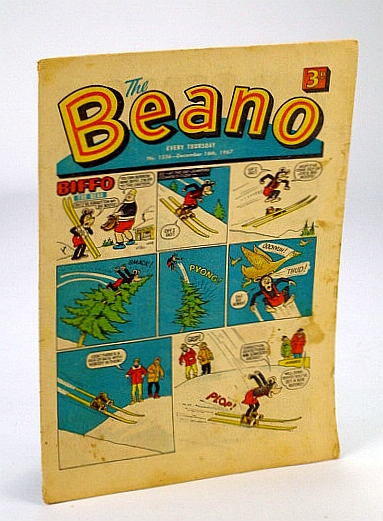 Image for The Beano, No. 1326 - 16 December (Dec.), 1967 (Original British Comic)