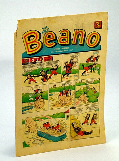 Image for The Beano, No. 1305 - 22 July, 1967 (Original British Comic)