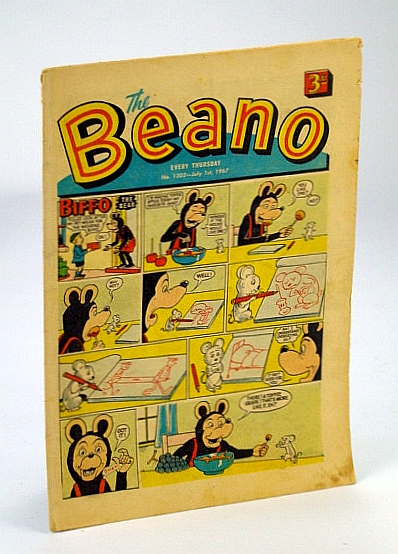 Image for The Beano, No. 1302 - 1 July, 1967 (Original British Comic)