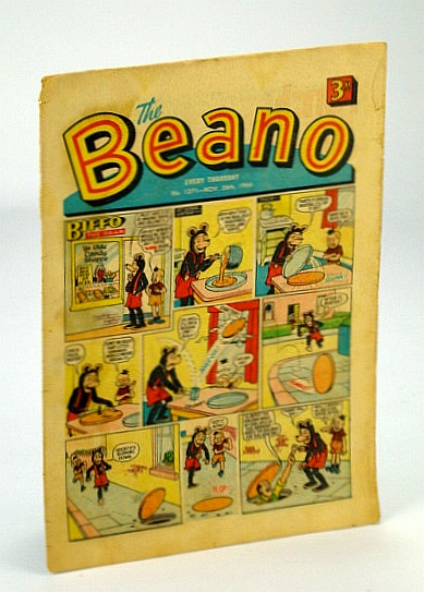 Image for The Beano, No. 1271 - 26 November (Nov.) 1966 (Original British Comic)