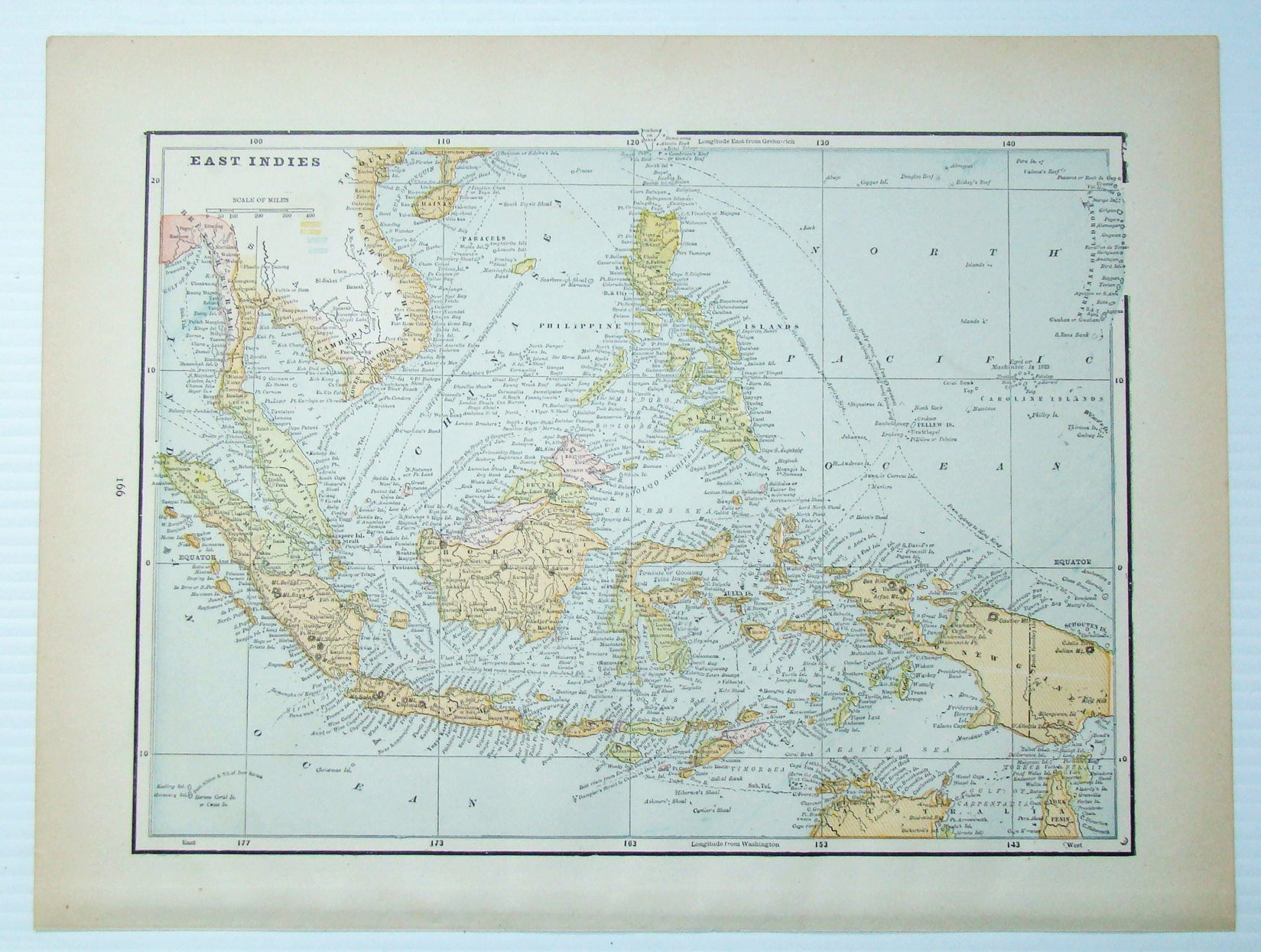 Image for 1889 Color Map of the East Indies