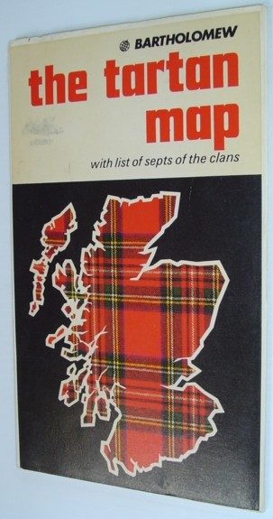 Image for The Tartan Map - With List of Septs of the Clans