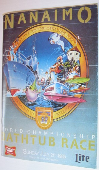 Image for Nanaimo World Championship Bathtub Race, Sunday July 21st, 1985 - Souvenir Program