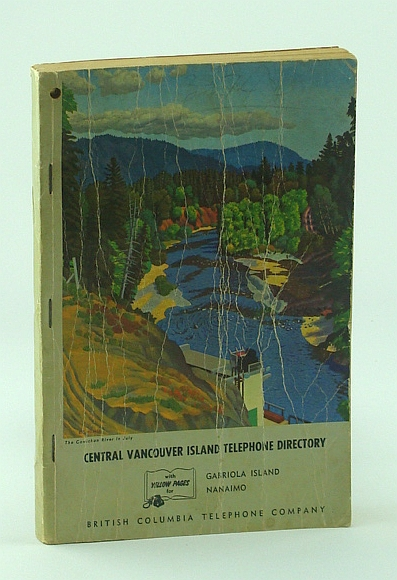 Image for Art of E.J. Hughes Featured on 1961 Central Vancouver Island Telephone (Phone) Directory