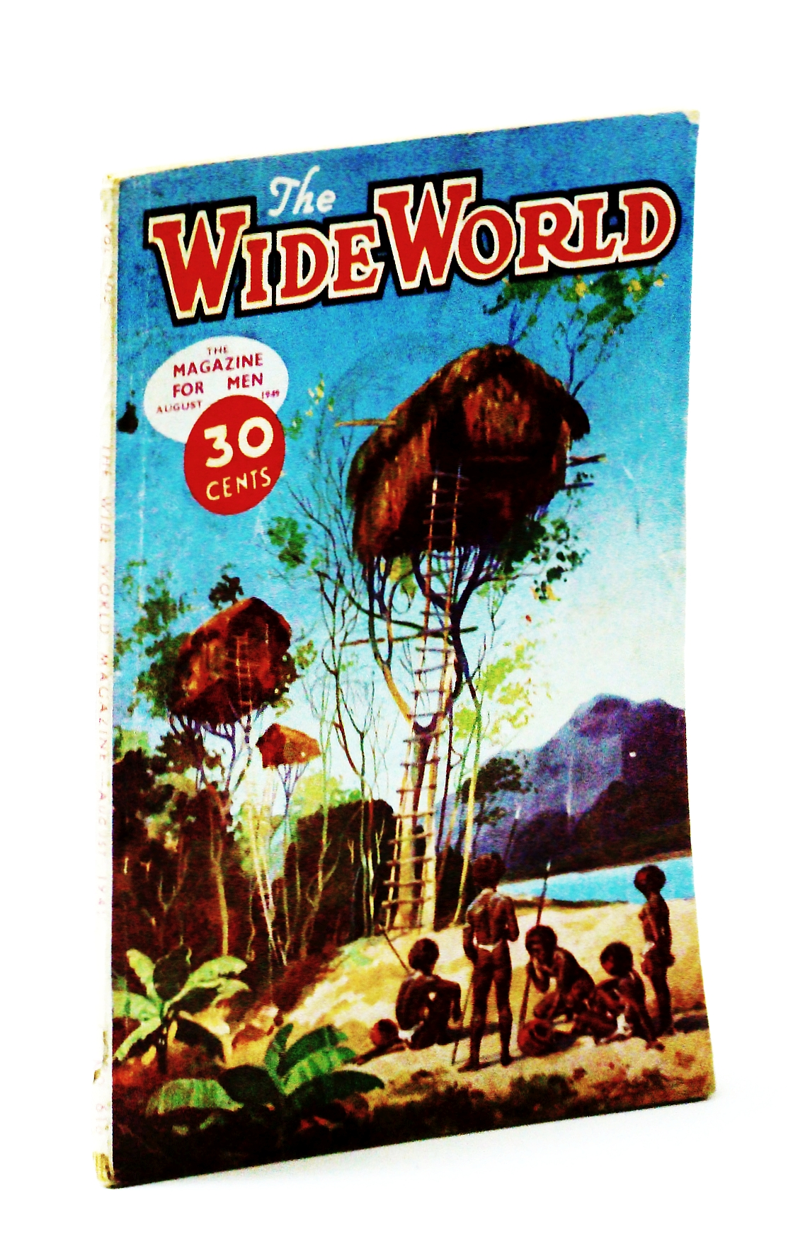 Image for The Wide World Magazine - August 1949 Vol.103, No.616