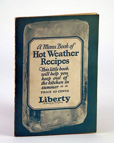 Image for A Menu Book of Hot Weather Recipes