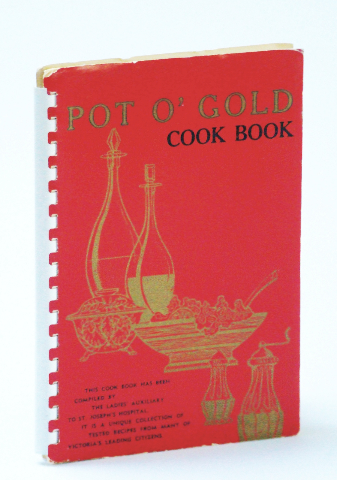Image for Pot O' Gold Cook Book (Cookbook)