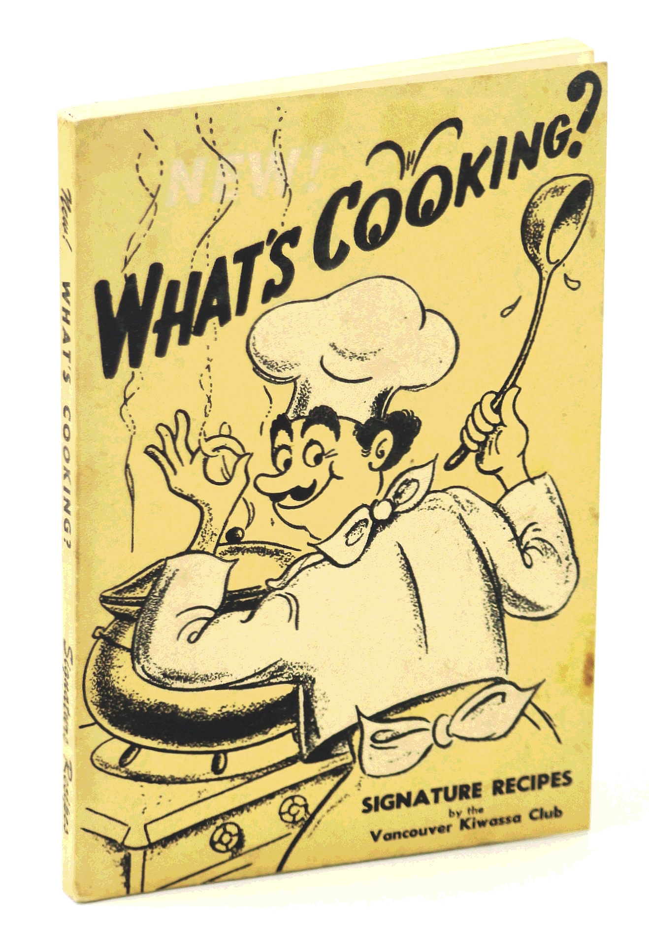 Image for What's Cooking?  Signature Recipes By the Vancouver, B.C. Kiwassa Club [Cookbook / Cook Book]
