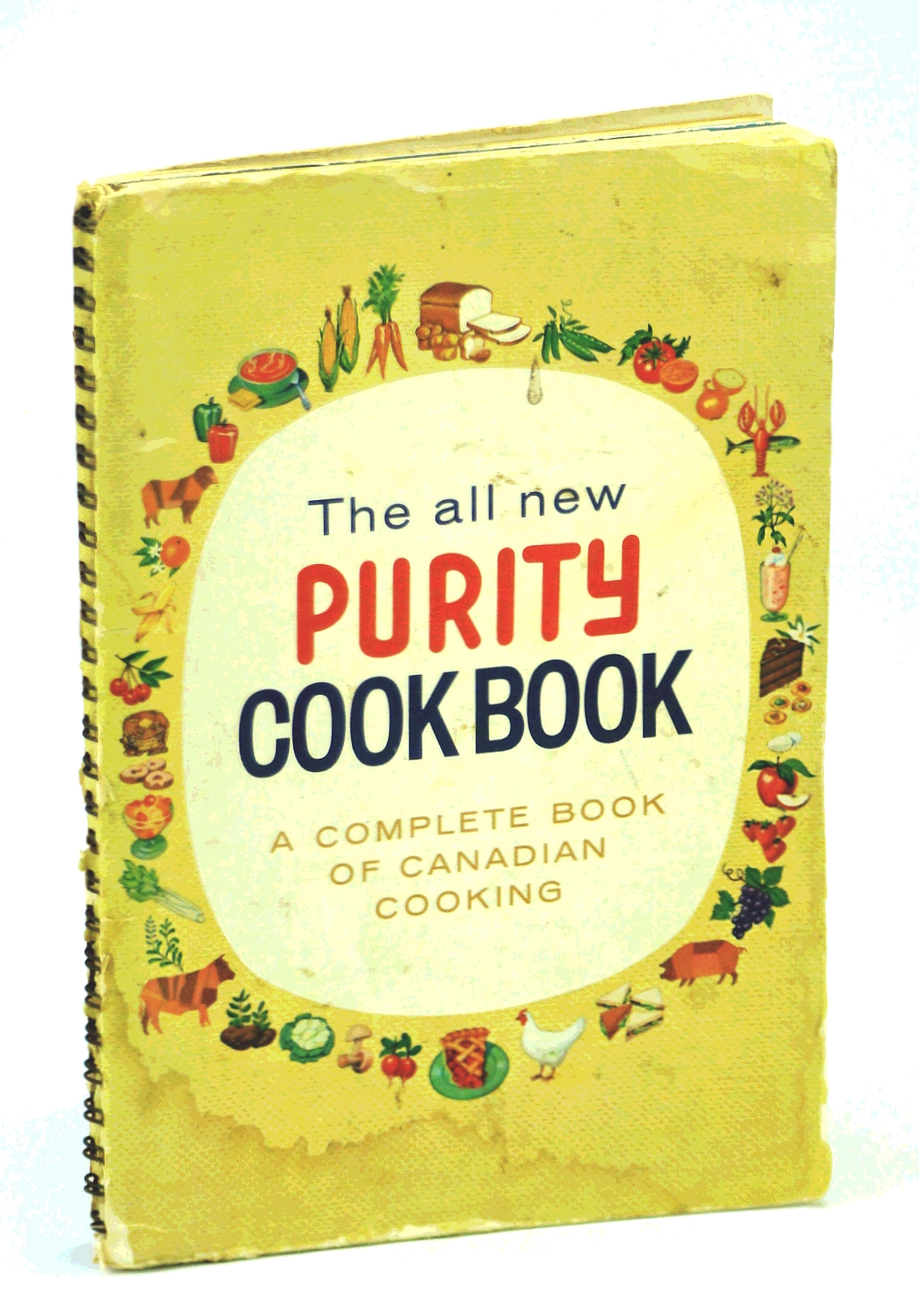 Image for THE ALL NEW PURITY COOK BOOK a Complete Book of Canadian Cooking