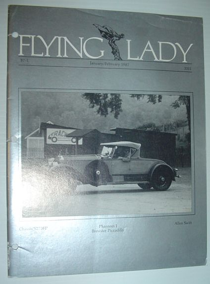 Image for Flying Lady - The Periodical of the Rolls-Royce Owner's Club, Inc., January/February 1987