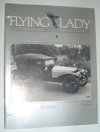 Image for Flying Lady - The Periodical of the Rolls-Royce Owner's Club, Inc., March/April 1988