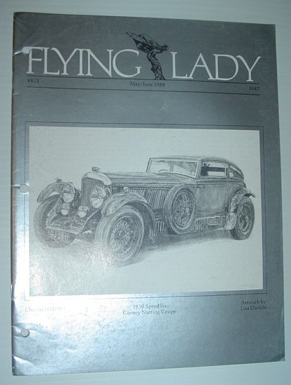 Image for Flying Lady - The Periodical of the Rolls-Royce Owner's Club, Inc., May/June 1988