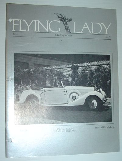 Image for Flying Lady - The Periodical of the Rolls-Royce Owner's Club, Inc., July/August 1988