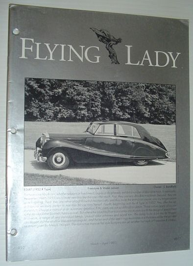 Image for Flying Lady - The Periodical of the Rolls-Royce Owner's Club, Inc., March/April 1993