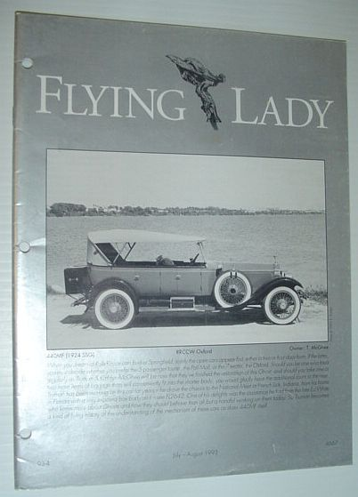 Image for Flying Lady - The Periodical of the Rolls-Royce Owner's Club, Inc., July/August 1993