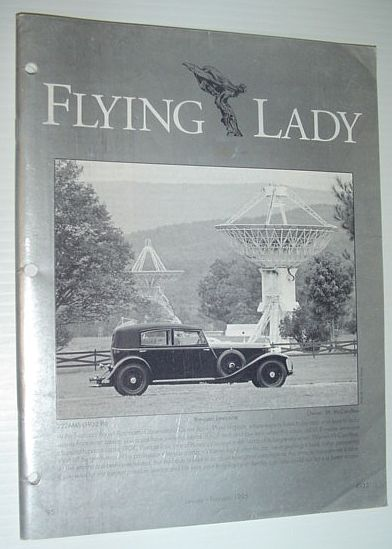 Image for Flying Lady - The Periodical of the Rolls-Royce Owner's Club, Inc., January/February 1995