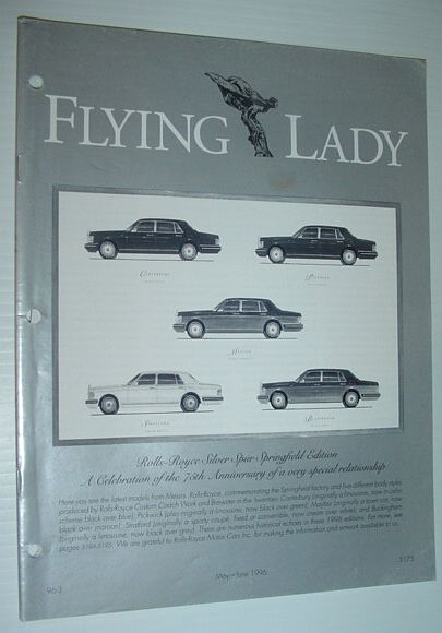 Image for Flying Lady - The Periodical of the Rolls-Royce Owner's Club, Inc., May/June 1996