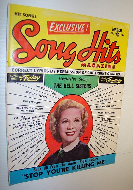 Image for Song Hits Magazine, March 1953 Vol. 16 No. 8