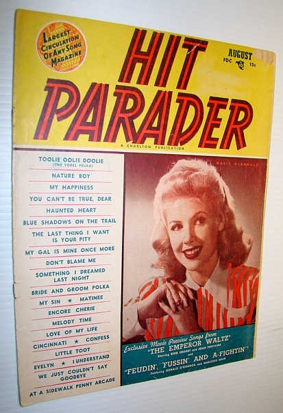 Image for Hit Parader Magazine, August 1948 Vol. VI No. 9