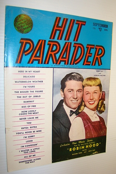 Image for Hit Parader Magazine, September 1952 Vol. X No. 10