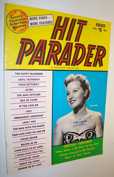 Image for Hit Parader Magazine, August 1954 Vol. XII No. 9