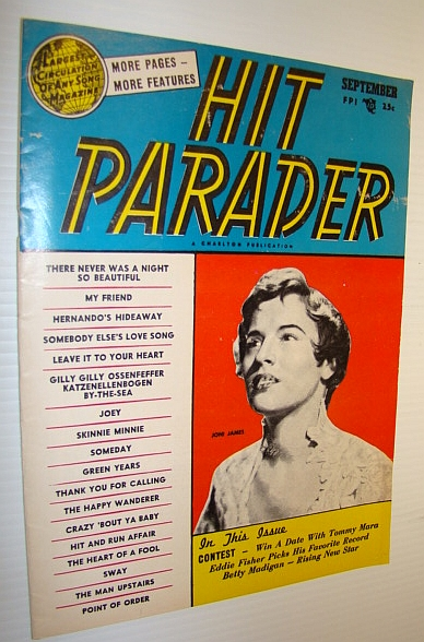 Image for Hit Parader Magazine, September 1954 Vol. XII No. 10