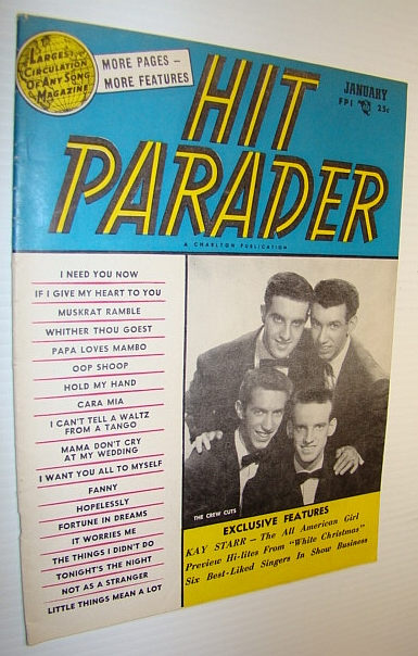 Image for Hit Parader Magazine, January 1955 Vol. XIII No. 2