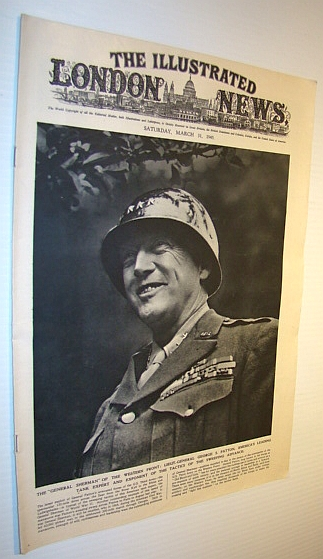 Image for The Illustrated London News, 31 March 1945 - Lieut.-General George Patton Cover Photo