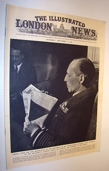 Image for The Illustrated London News, 7 September 1946
