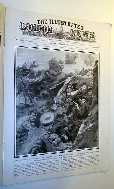 Image for The Illustrated London News, 27 March 1915