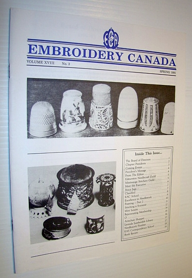 Image for Embroidery Canada Magazine, Spring 1991