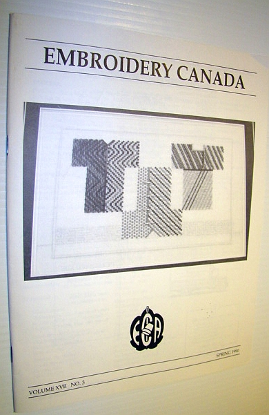 Image for Embroidery Canada Magazine, Spring 1990
