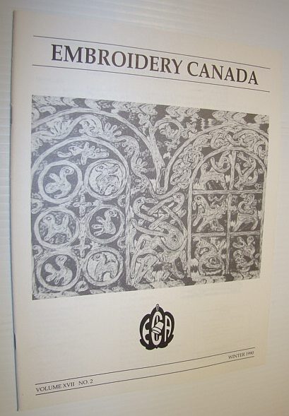 Image for Embroidery Canada Magazine, Winter 1990