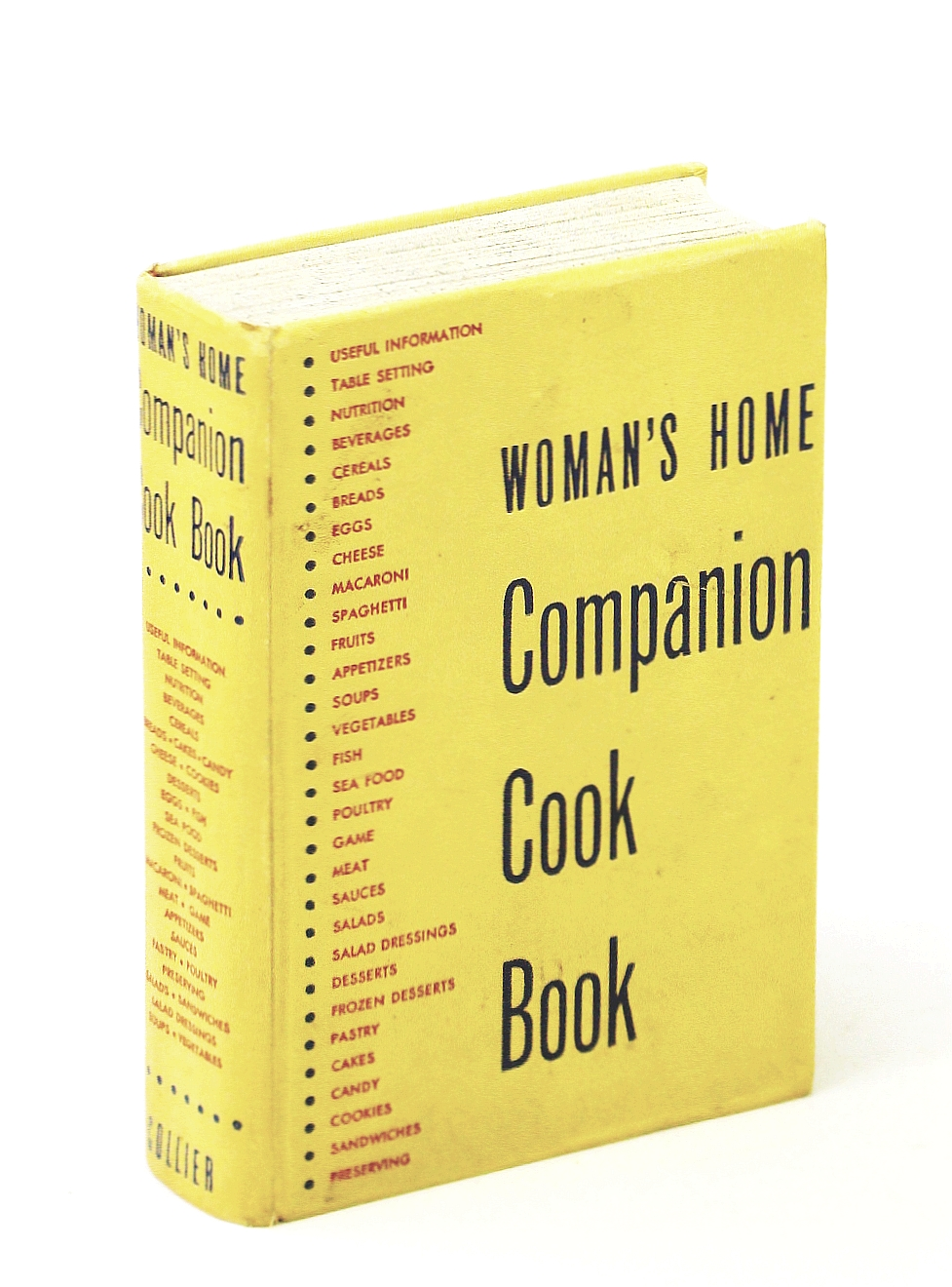 Image for Woman's Home Companion Cook Book