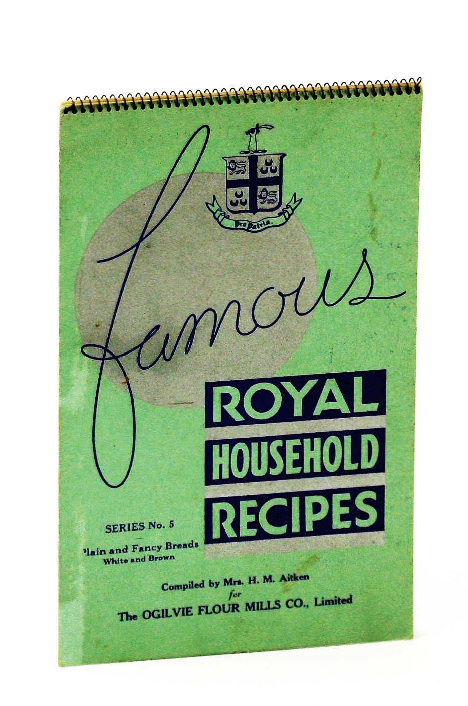Image for FAMOUS ROYAL HOUSEHOLD RECIPES Series No. 5 Plain and Fancy Breads White and Brown