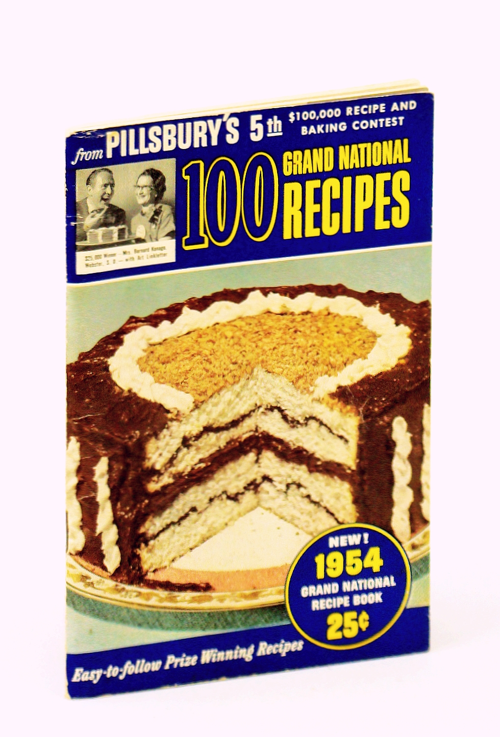 Image for 100 Prize-Winning Recipes from Pillsbury's 5th Grand National Recipe and Baking Contest 1954