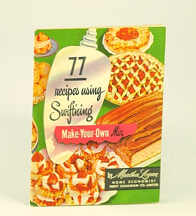 Image for 77 recipes using swiftning make your own mix