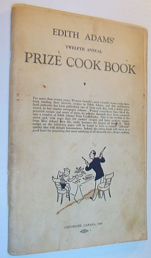 Image for Edith Adams' Twelfth Annual Prize Cook Book: Readers' Tested Recipes / Basic Cookery