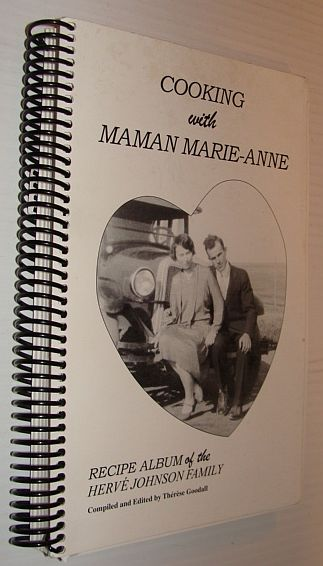 Image for Cooking with Maman Marie-Anne: Recipe Album of the Herve Johnson Family