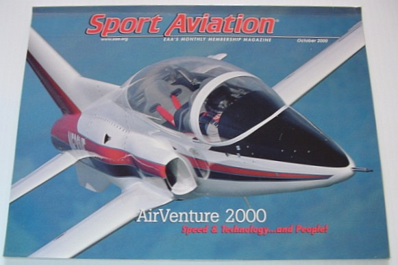 Image for Sport Aviation Magazine - October 2000