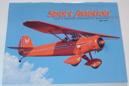 Image for Sport Aviation Magazine - May 1996