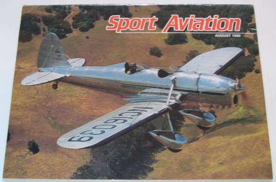 Image for Sport Aviation Magazine - August 1990
