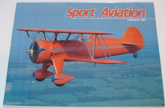 Image for Sport Aviation Magazine - February 1990
