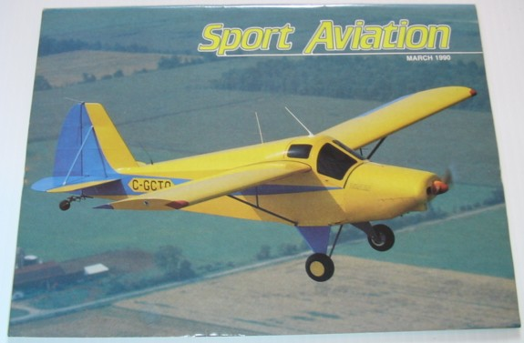 Image for Sport Aviation Magazine - March 1990
