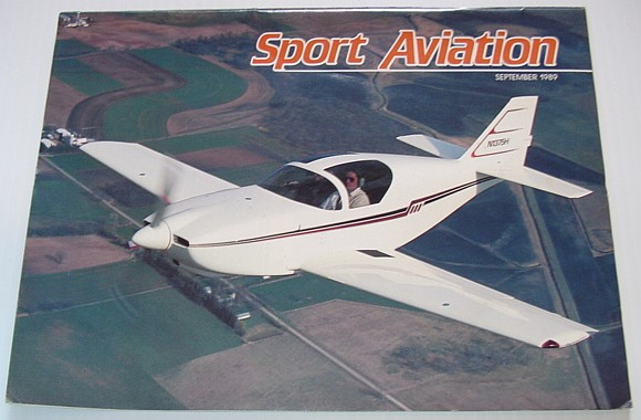 Image for Sport Aviation Magazine - September 1989