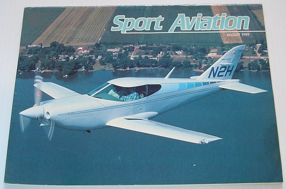 Image for Sport Aviation Magazine - August 1989
