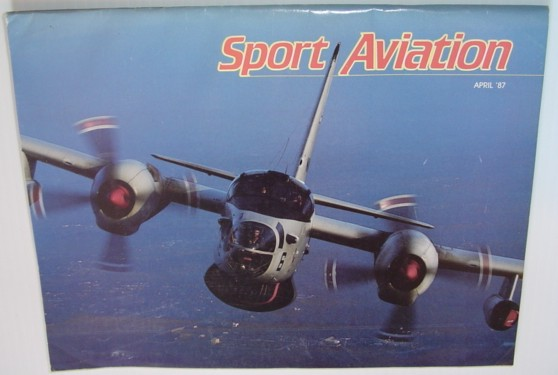 Image for Sport Aviation Magazine - April 1987