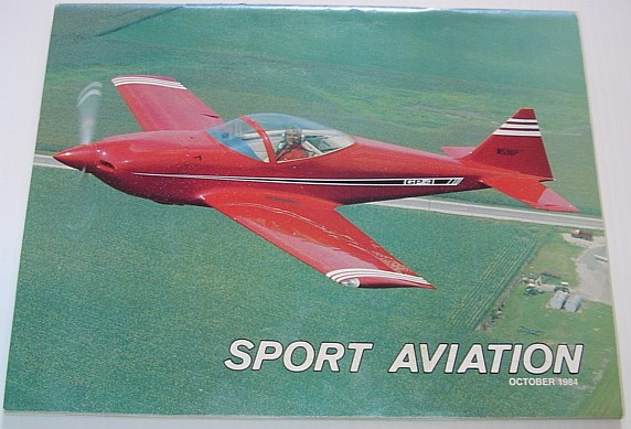 Image for Sport Aviation Magazine - October 1984