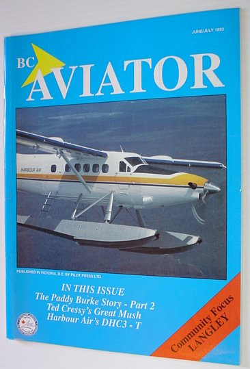 Image for BC (British Columbia) Aviator Magazine: June/July 1993 - Community Focus on Langley