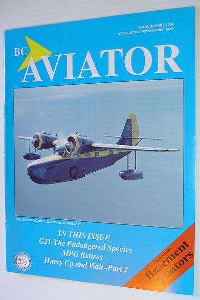 Image for BC (British Columbia) Aviator Magazine: March/April 1994 - Basement Aviators